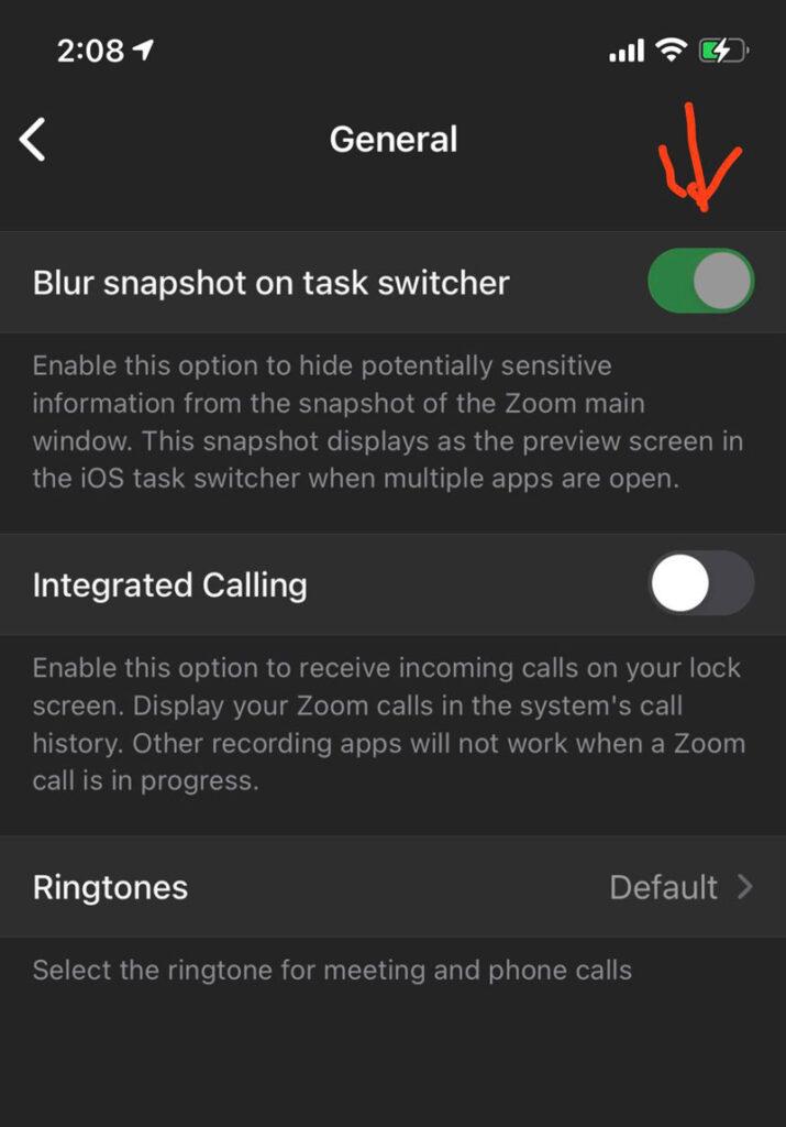 Enabling Blur snapshot on iOS app switcher
