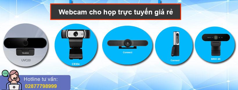 Webcam cho họp trực tuyến giá rẻ