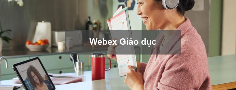 Giải pháp Webex Meeting cho ngành Giáo dục