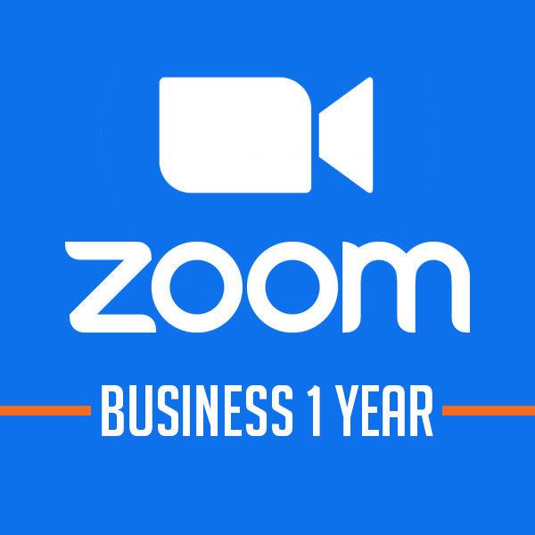 Phần mềm họp hội nghị Zoom Business [Gói 1 năm]