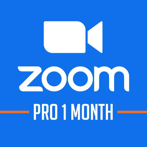 Phần mềm họp hội nghị Zoom Pro [Gói 1 tháng]
