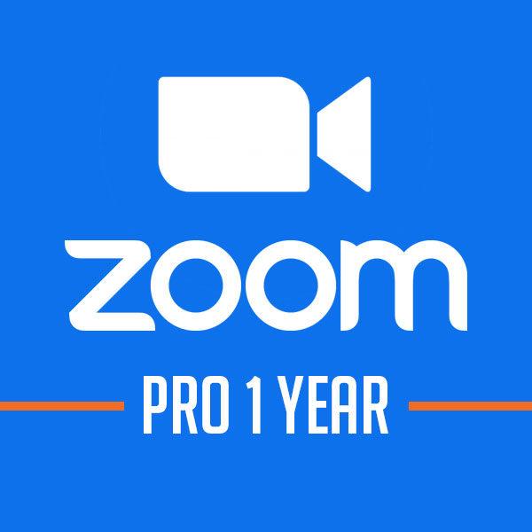 Phần mềm họp hội nghị Zoom Pro [Gói 1năm]