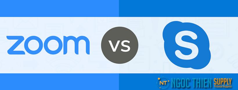Nên dùng Zoom hay Skype để họp trực tuyến