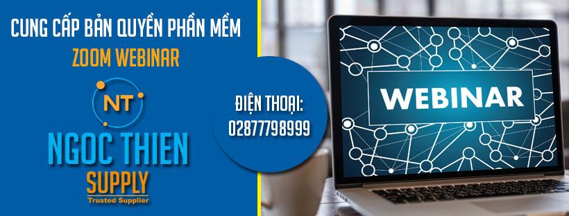 Cung cấp bản quyền Zoom Webinar chính hãng có VAT
